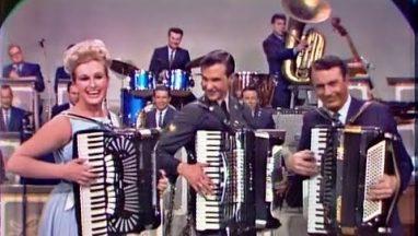 Jo-ann Castle & Myron Floren & Kenny King on Accordions
