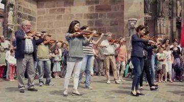Ode to Joy – Nuremberg Flashmob