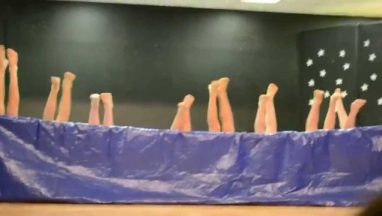 5th Grade Boys Synchronized Air Swimming Talent Show Skit