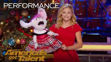 "Darci Lynne and Petunia Sing ""Rockin' Around the Christmas Tree"""