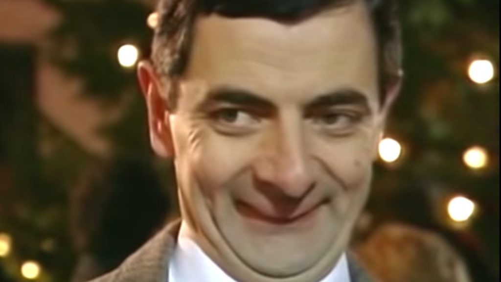 Mr Bean Christmas.Christmas Busking Classic Mr Bean 1funny Com