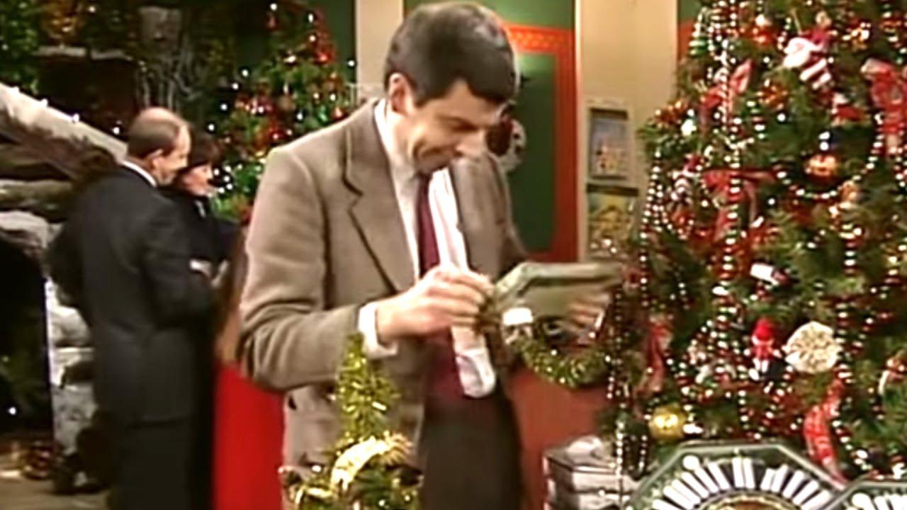Mr Bean Christmas.Christmas Shopping Classic Mr Bean 1funny Com