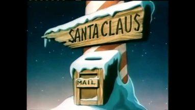 Santa's Surprise – 1947 Christmas Cartoon