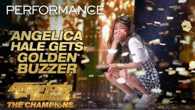 Angelica Hale Receives Golden Buzzer