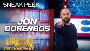 Jon Dorenbos Blows Minds With Unbelievable Magic