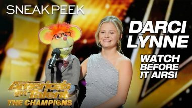 Darci Lynne Blows Minds With Stunning Ventriloquism – AGT: The Champions