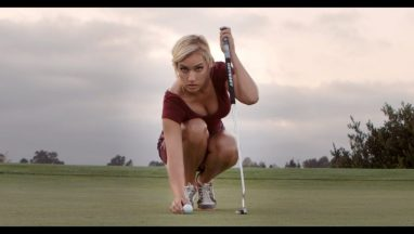 Paige Spiranac Takes Golf to the Streets