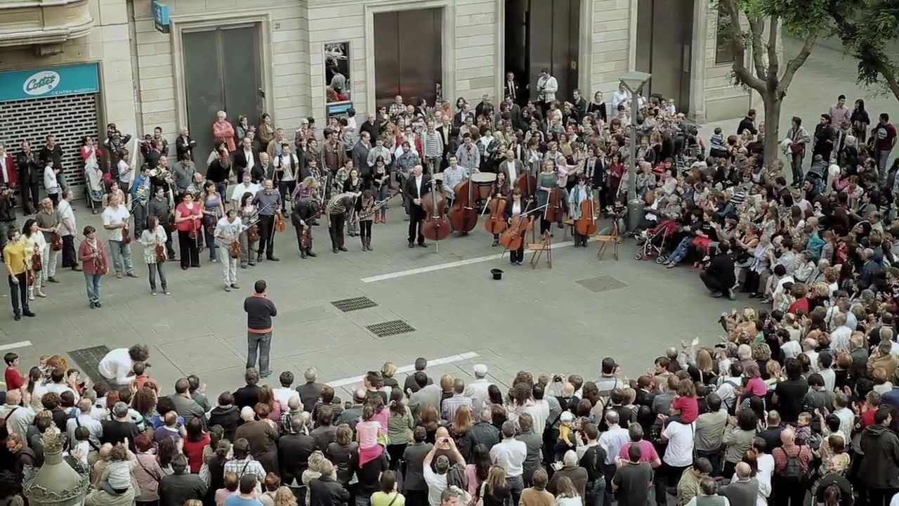 Sabadell, Spain Flash Mob