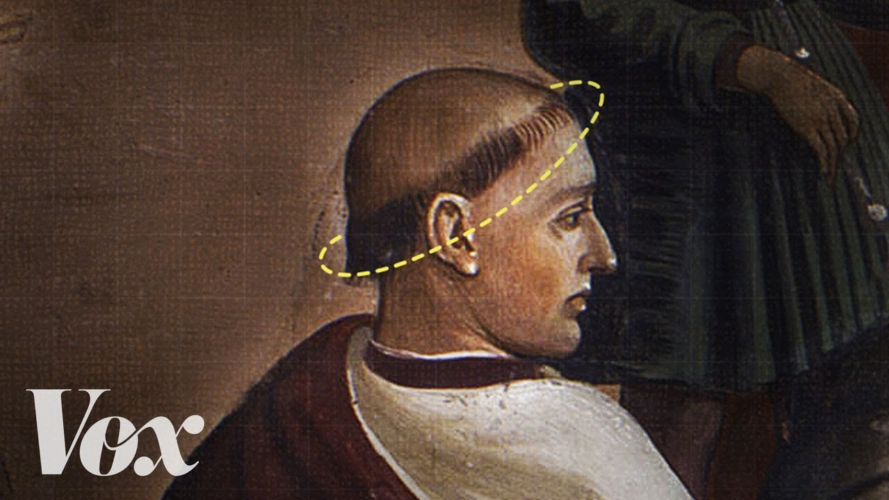 Why Monks Had That Haircut 1funny Com