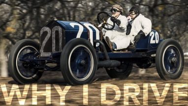 100-year Old Race Cars Saved From Life in Museum