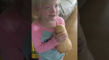 3-Year-Old Doesn't Want to Eat Her Friend Squash