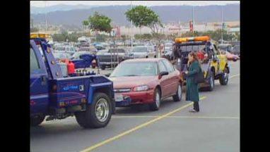 Candid Camera Classic: Rival Tow Trucks!