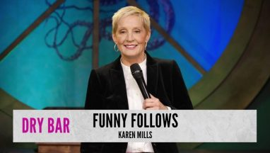 Funny Follows Me – Karen Mills