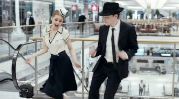Dancing at the Mall and Taking People's Money