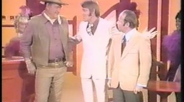 Glen Campbell, John Wayne and Tim Conway
