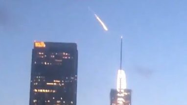 Mysterious Meteor Spotted Over Los Angeles