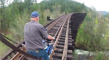 Extreme Railbiking – Rail Bikes on Abandoned Railroads