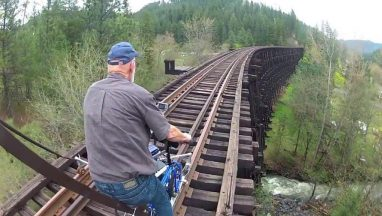 Extreme Railbiking – Rail Bikes on Abandoned Railroads