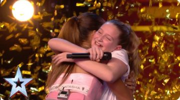 Ten-year-old Giorgia gets Alesha's GOLDEN BUZZER with MIND-BLOWING vocals!