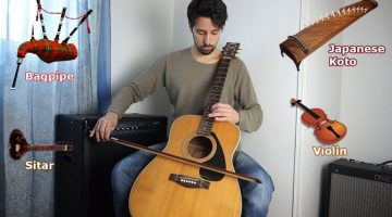 Instrument Imitations on Guitar