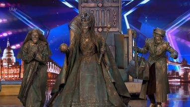 Britain's Got Talent 2019 Big Name Statues Surprises Full Audition S13E06a