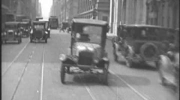 Driving Around New York City – 1928