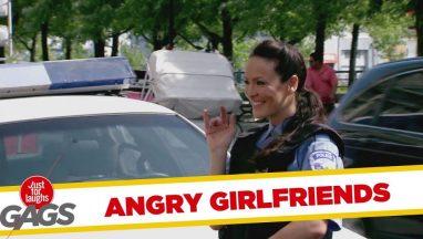 Angry Girlfriends Slash Flirty Cop's Tires