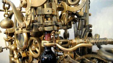 Elaborate Bottle Opener Machine