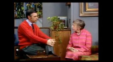Mr Rogers & the Wicked Witch of the West, Margaret Hamilton (1975)